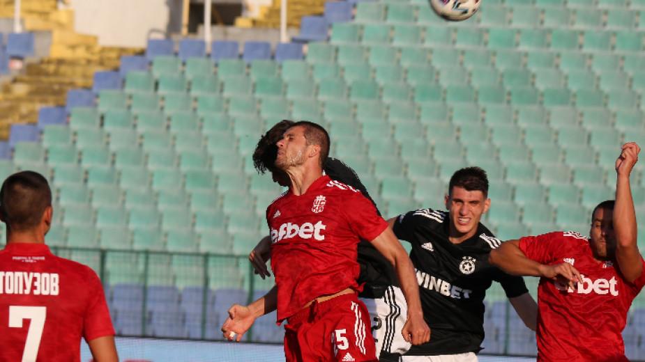 Отборът на ЦСКА София надигра с 4:2 като гост ЦСКА