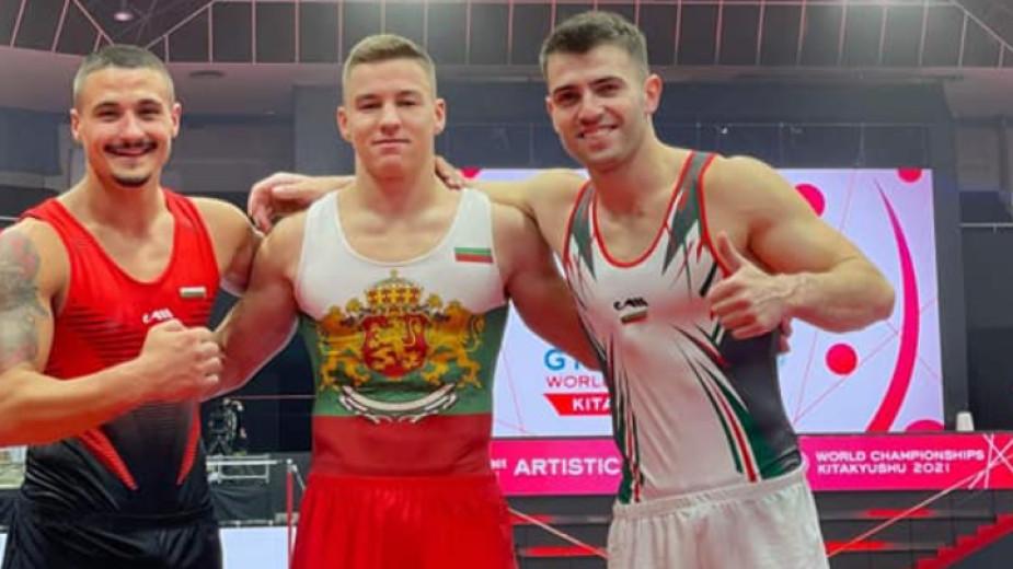 Димитър Димитров е с трета оценка на прескок, а Йордан