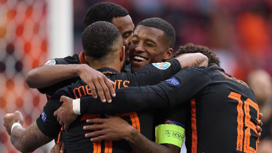 Отборът на Нидерландия победи този на Северна Македония с 3:0