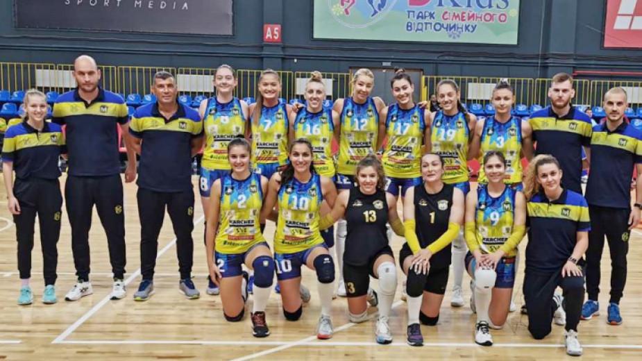 Женският волейболен шампион на България Марица (Пловдив) научи съперниците си