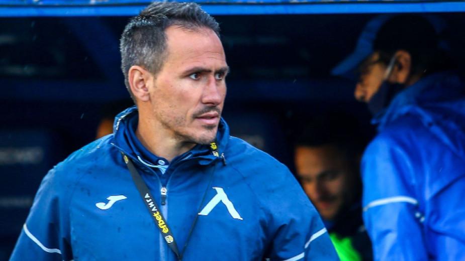 Помощник-треньорът на Левски Живко Миланов, който за пореден път замести
