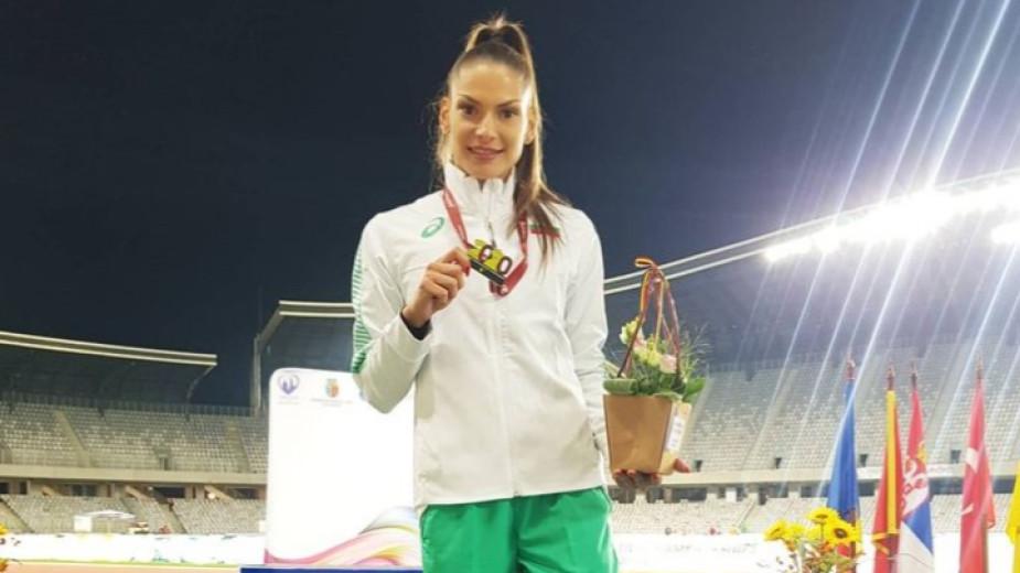 Габриела Петрова завоюва балканските титли на троен и на дълъг скок