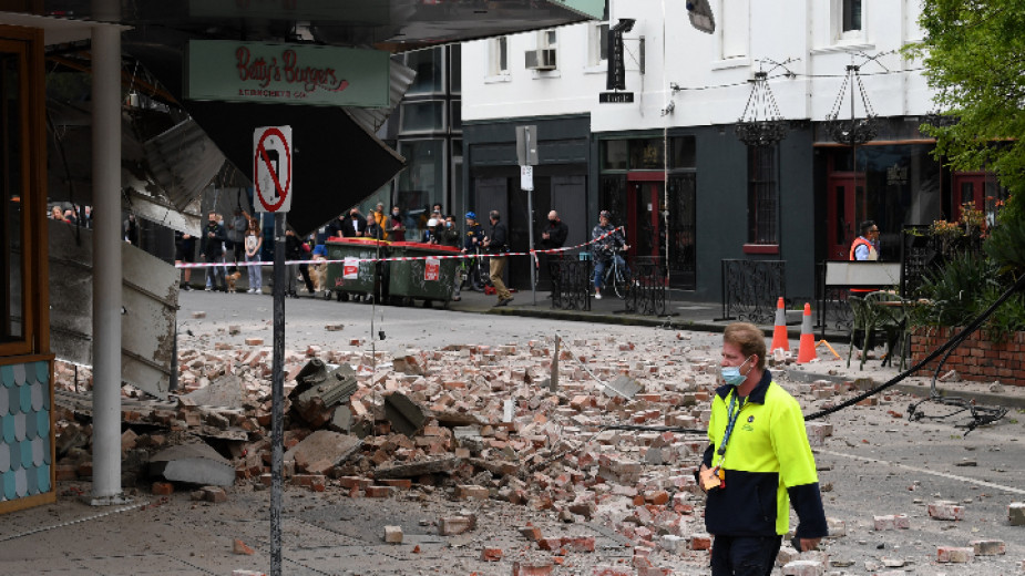 Земетресение с магнитуд 6 по скалата на Рихтер е регистрирано