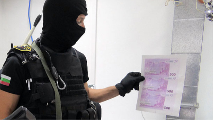 More Than 11 Million Euros And Some 2 Million Dollars In Counterfeit Banknotes Found In Illegal Printing House