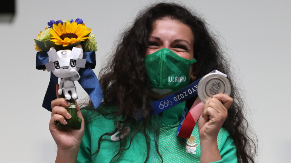Антоанета Костадинова на Олимпиадата в Токио