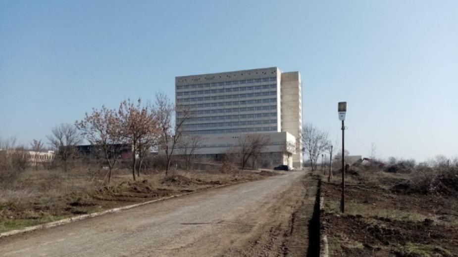 Строителството на новата болница в Ямбол ще приключи до март