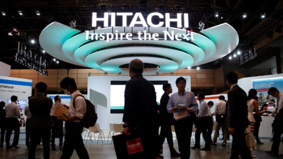 Японската технологична група Hitachi се стреми да изгради нови заводи
