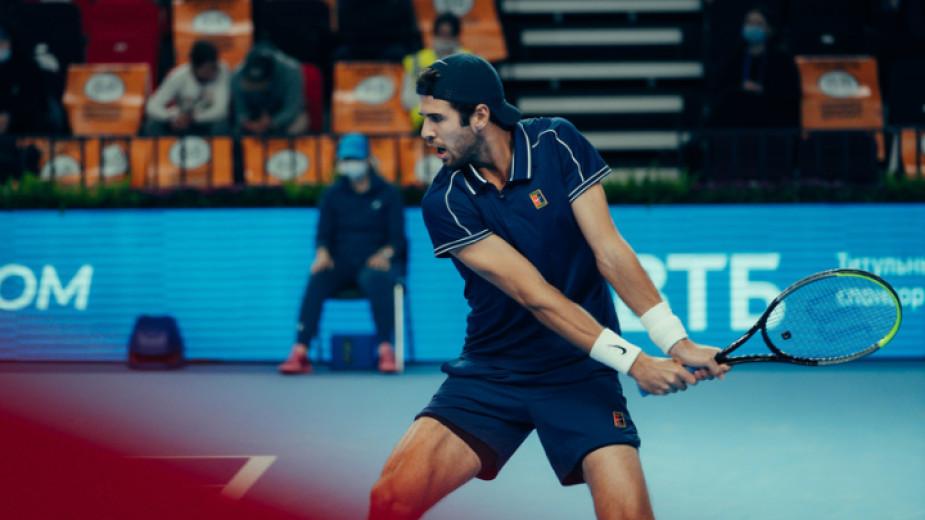 Третият в схемата на АТР 250 тенис турнира в Москва