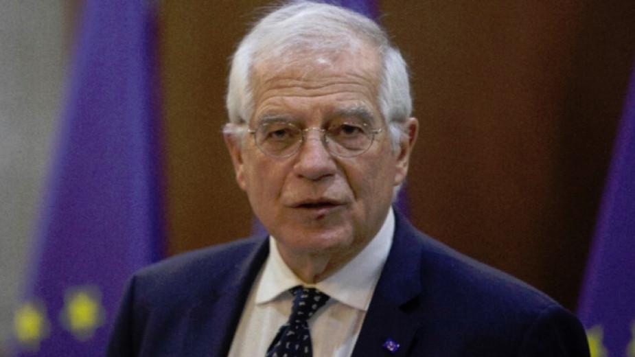 Върховният представител по външната политика и сигурността Жозеп Борел призова