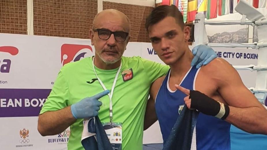 Уилиам Чолов донесе втори финал за българския бокс от Европейското