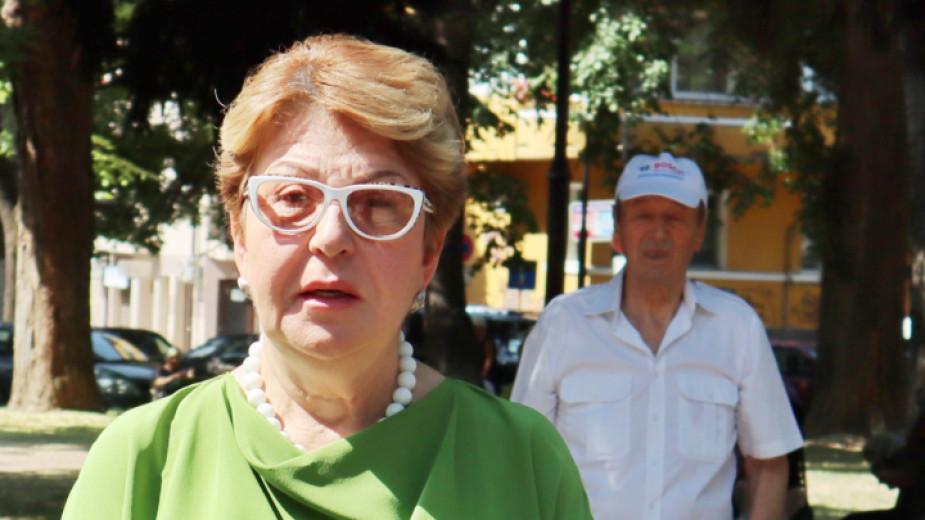 Посланикът на Руската федерация у нас Елеонора Митрофанова се срещна с кмета на Варна Иван Портних.