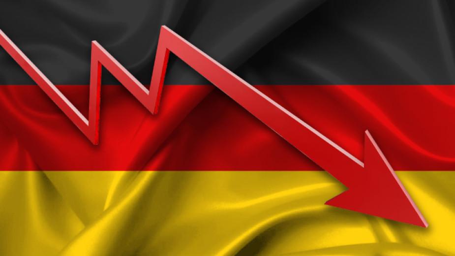 Германският брутен вътрешен продукт вероятно ще се свие с 1,8%