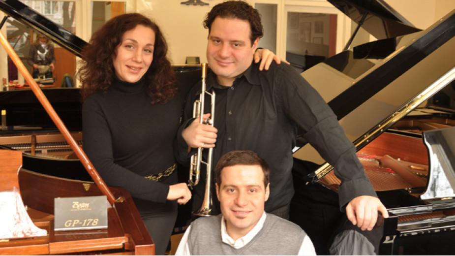 Екатерина, Александър и Константин Владигерови