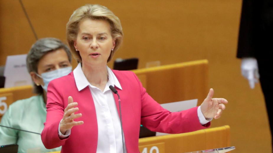 Изказване на Урсула фон дер Лайен пред Европейския парламент