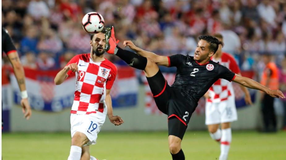Хърватия загуби в контрола от Тунис