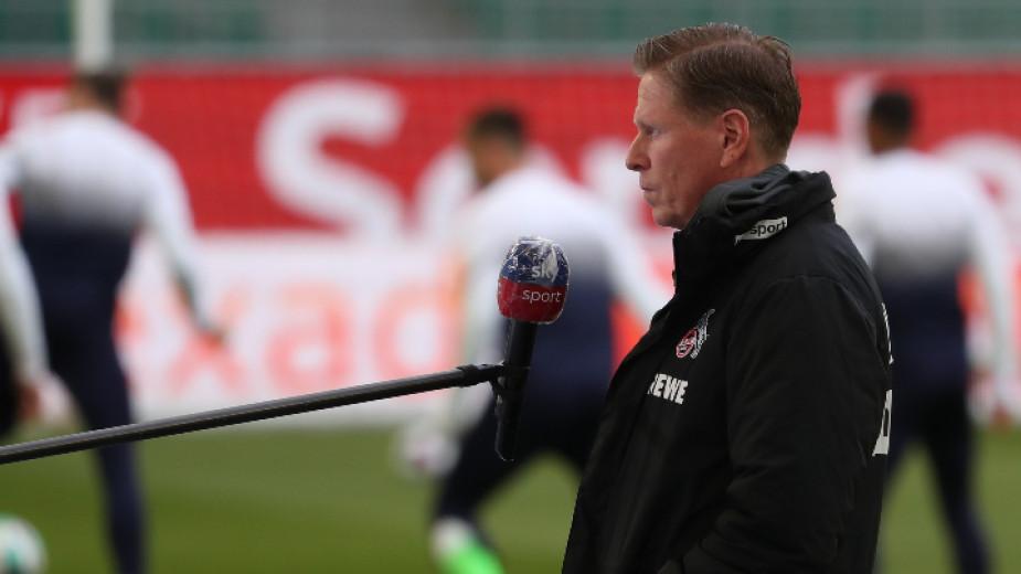 Германският футболен клуб Кьолн уволни старши треньора си Маркус Гиздол,