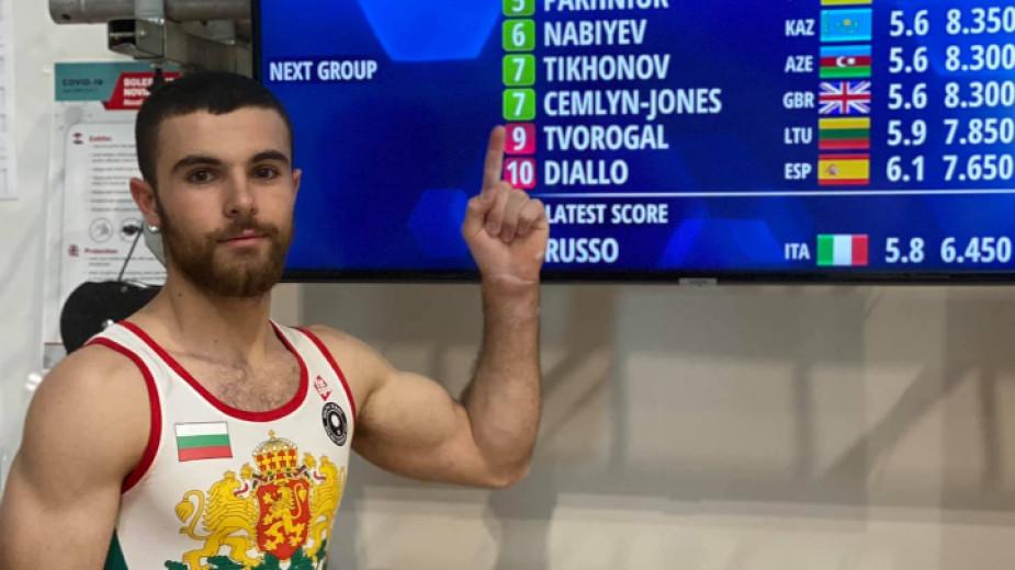 Дейвид Хъдълстоунсе класира за финала на успоредка на световната купа