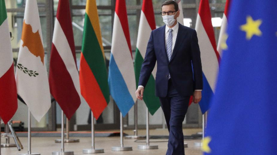 Сблъсъкът между Полша и европейските инстнитуции доминира началото на срещата