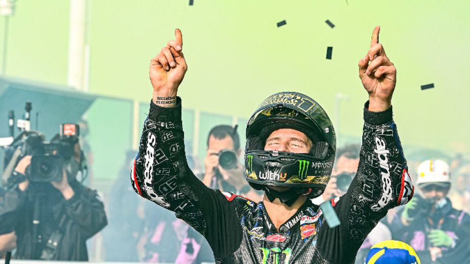 Фабио Куартараро спечели първата си световна титла в MotoGP в