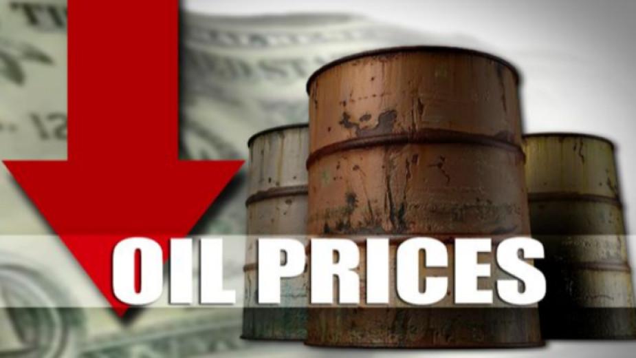 Петролът поевтинява с близо 3% след ръст на складовите запаси в САЩ и опасения за по-слабо потребление