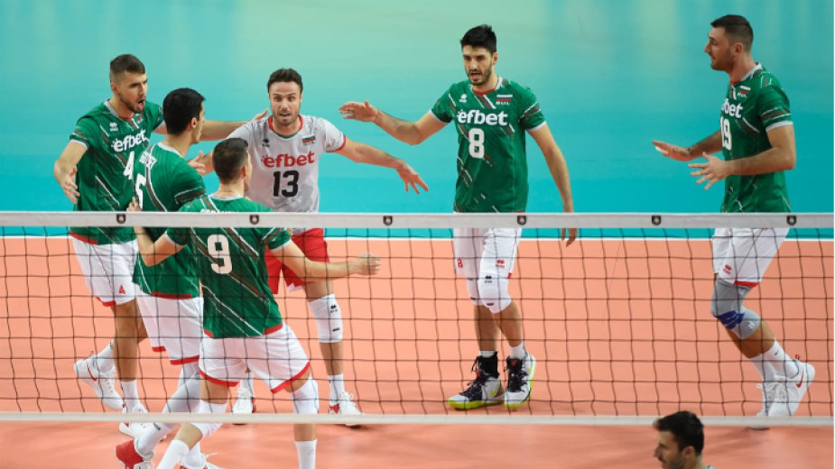 Волейболистите ни на осминафинал срещу Словения в Любляна