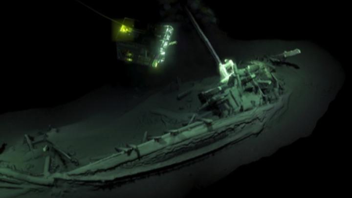 Откриха най-стария потънал цял кораб в света на дъното на Черно море