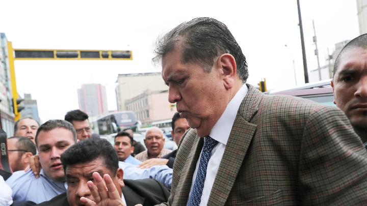 Алан Гарсия - бившият президент на Перу.