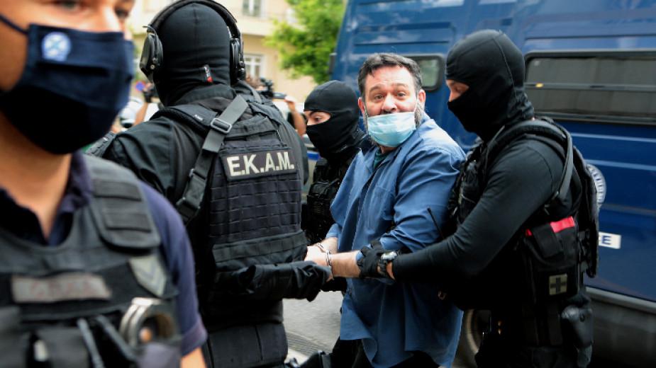 Гръцкият неонацист и евродепутат от независимите Йоанис Лагос бе екстрадиран