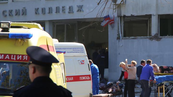Експлозията днес на полуостров Крим, при която са загинали най-малко 18 души и 50-ина са ранени, е причинена от взривно устройство