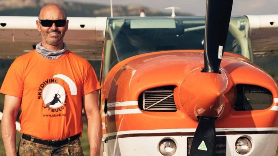 Радостин Велев: Скоковете с парашут са страст