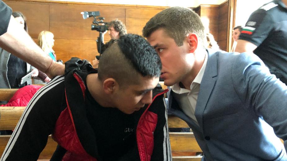 Северин Красимиров в съда.