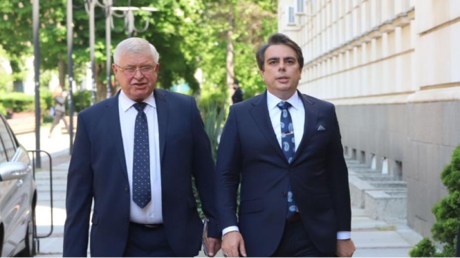 Kyrill Ananiew (l.) und Assen Wassilew