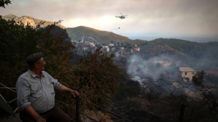 В Турция от 132 пожара 125 са под контрол, съобщи