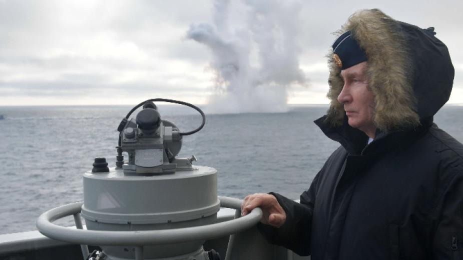 Руската флота е способна да нанесе смъртоносни удари по всеки