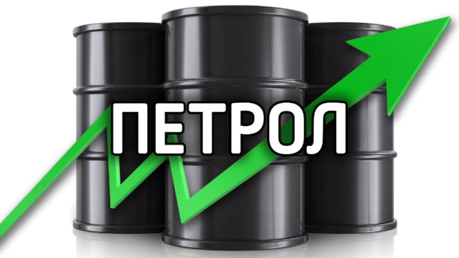 Цените на петрола достигнаха в понеделник нови многогодишни върхове, подпомогнати