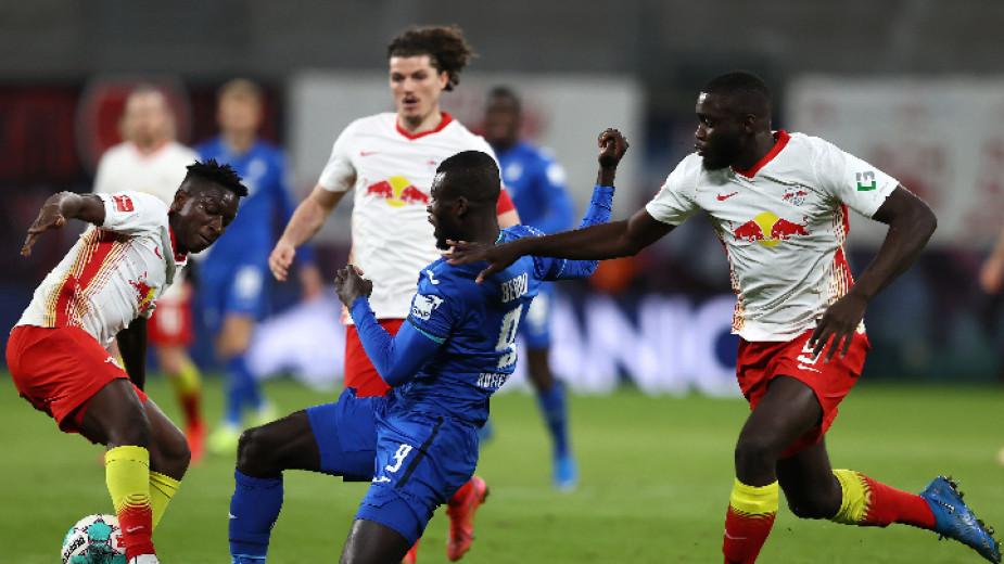 В мач от 29-ия кръг на Бундеслигата тимовете на РБ