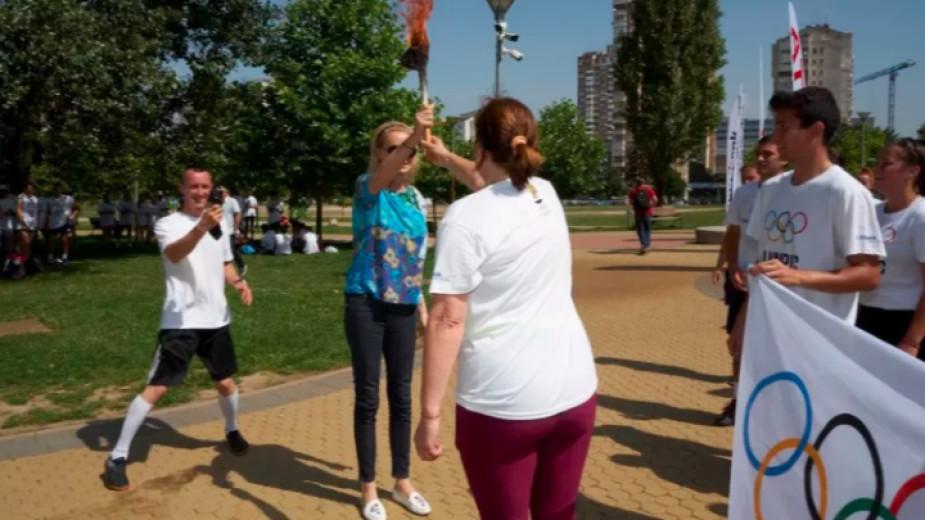 С редица активности Българският олимпийски комитет отбелязва международния Олимпийски ден