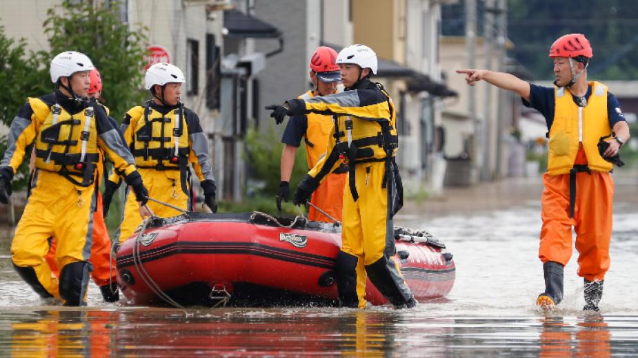 Властите в централната японска префектура Фукуи отправиха препоръка към 64