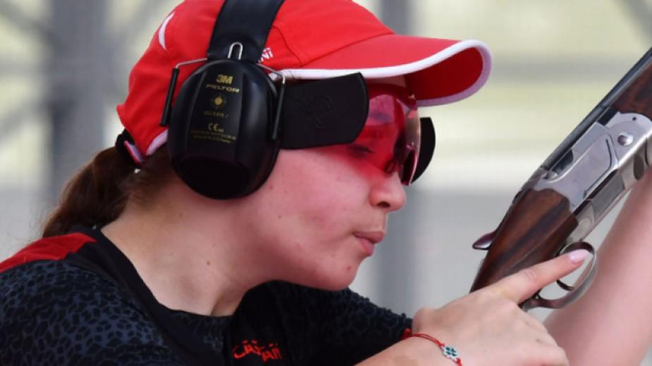 Българската състезателка по ловна стрелба Селин Али остана на 20-ото