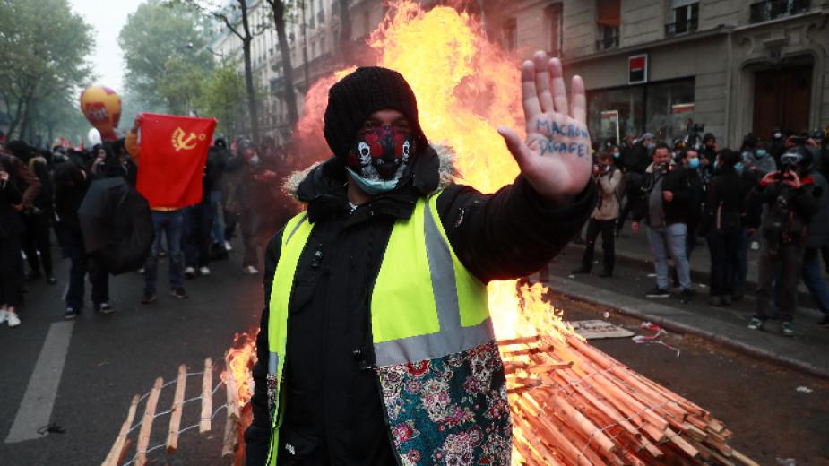 Шествия за Международния ден на труда се проведоха в различни