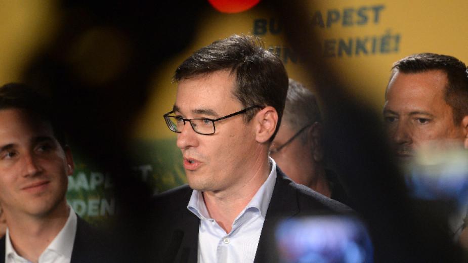 Кметът на Будапеща Гергей Карачон обяви днес, че ще участва