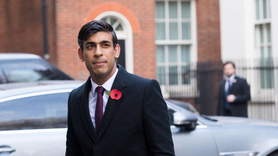 Риши Сунак, министър на финансите на Великобритания