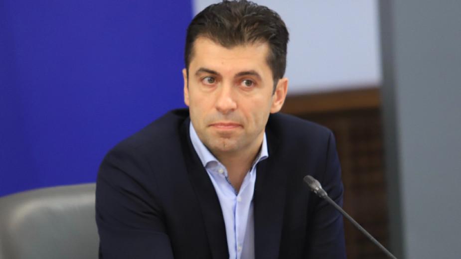 Министърът на икономиката в служебното правителство Кирил Петков обеща промяна