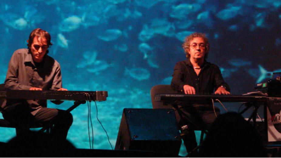 Simo Lazarow und Valentin Lazar (l.) – Vater und Sohn zusammen auf der Bühne
