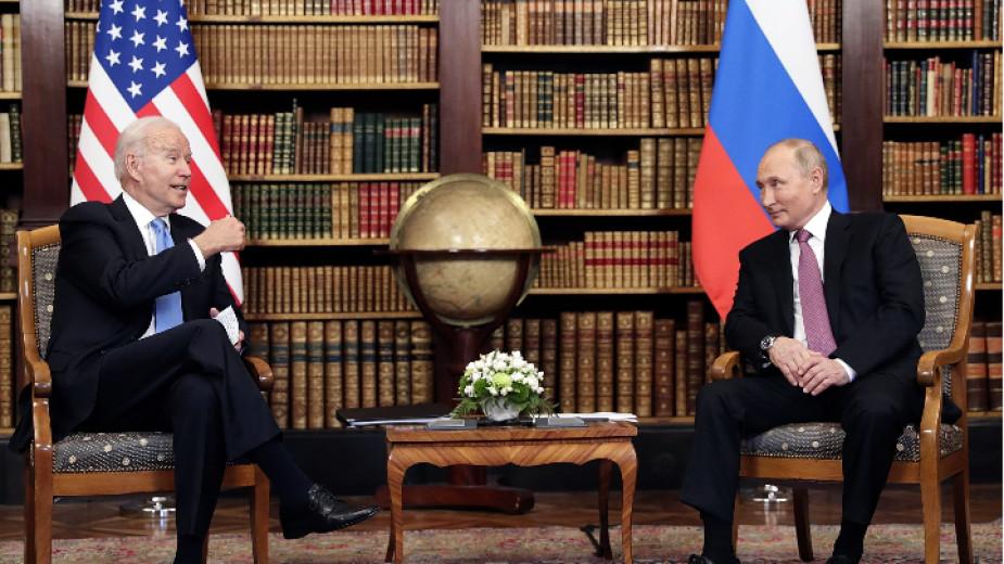 Тази седмица в светлината на прожекторите беше американският президент Джо