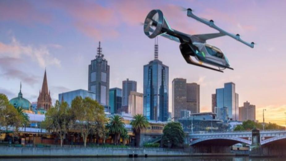 """""""Юбер"""" пуска летящо такси в Австралия"""