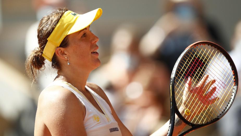 Руската тенисистка Анастасия Павлюченкова не скри вълнението си от за