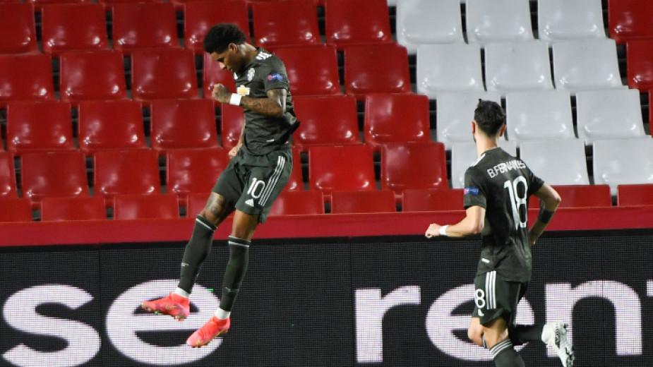 Манчестър Юнайтед победи с 2:0 като гост испанския Гранада в