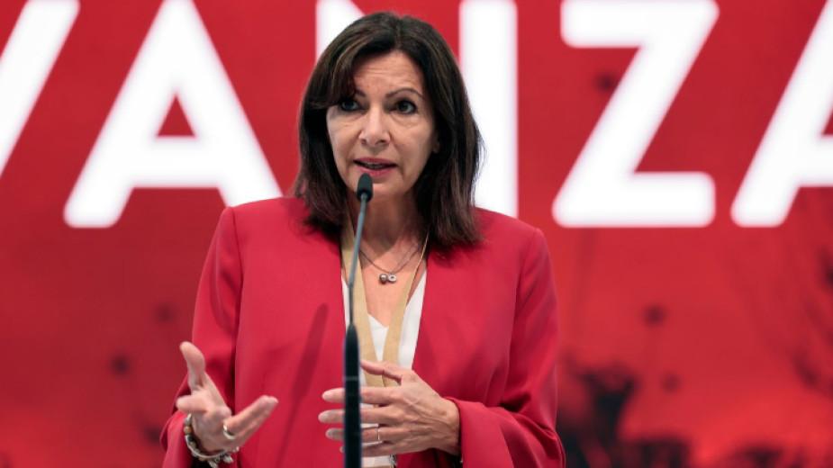 Кметът на Париж Ан Идалго, кандидат на френските социалисти за