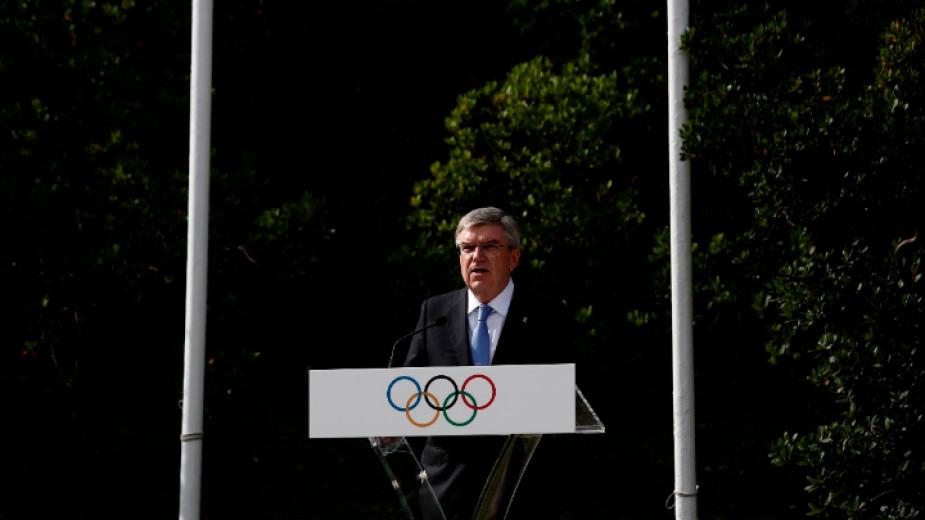 Президентът на МОК Томас Бах заяви, че зимните олимпийски игри